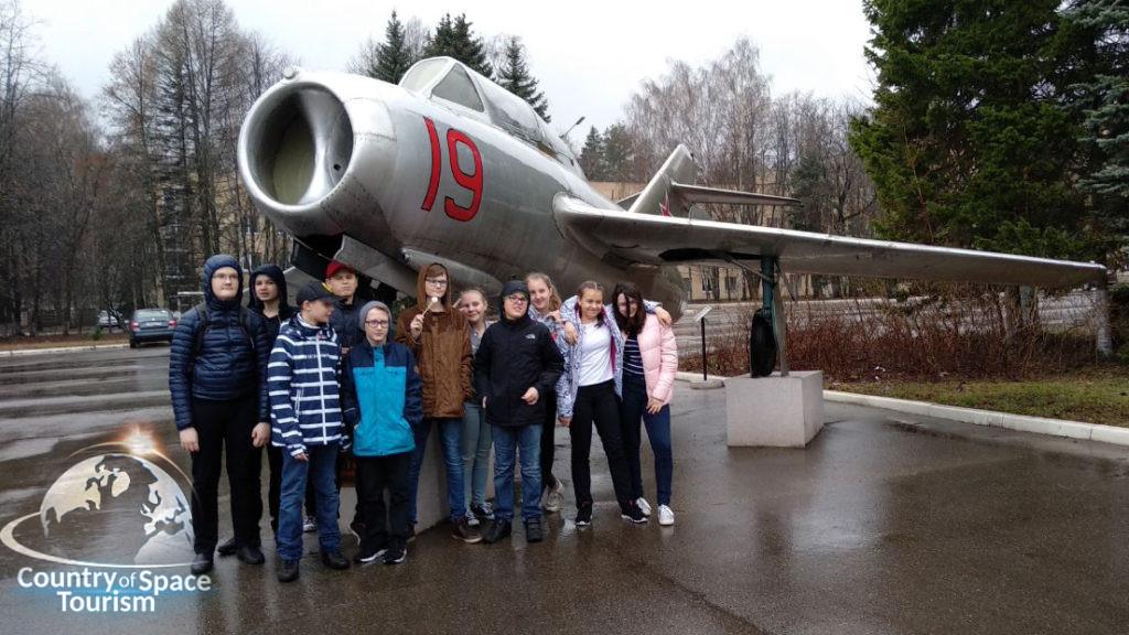 Экскурсия в Звездный городок для школьников