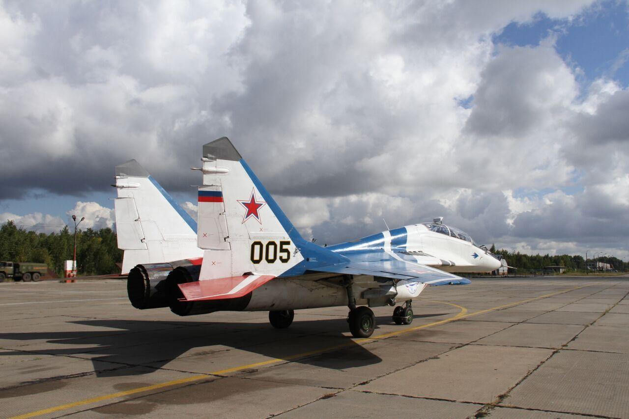 Сертификат на полет на МИГ-29