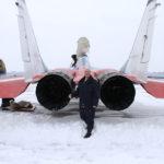 Фото возле МиГ-29