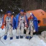Тренировка по выживанию после посадки космического корабля