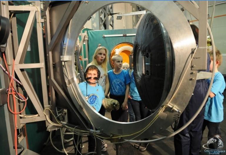 Тренажеры для подготовки космонавтов