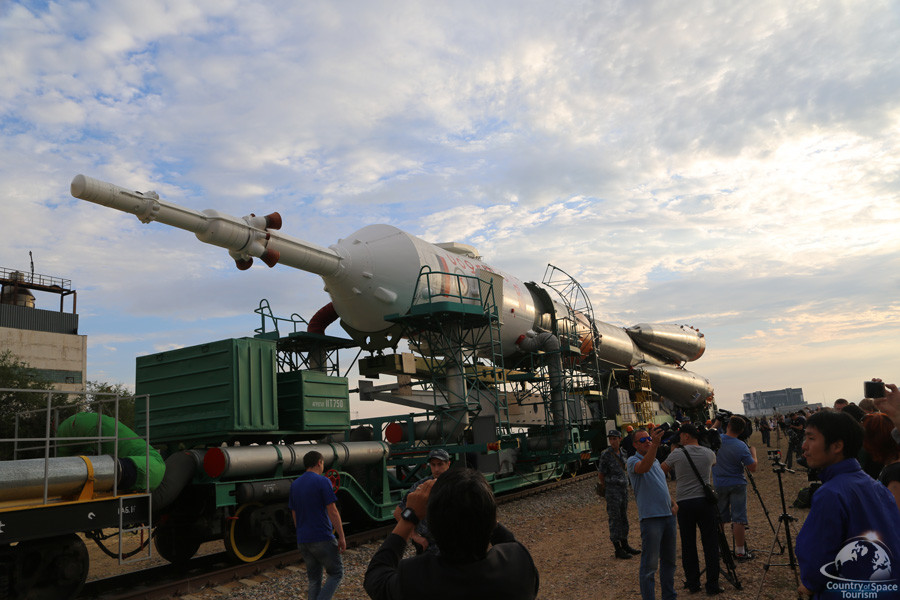 Посещение космодрома Байконур