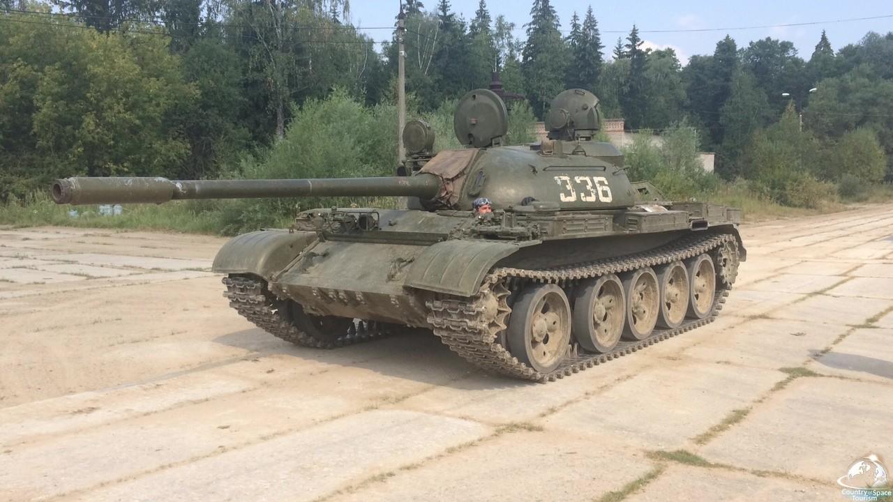 Покататься на танке