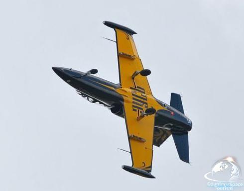 Полеты на реактивных самолетах Л-29 и Л-39
