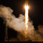 Старт космического корабля на Байконуре