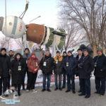 Наши туристы в музее космодрома Байконур