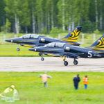 парный полет на самолетах Л-39